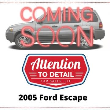 2005 Ford Escape for sale at Attention to Detail - Car Sales, LLC in Ogden UT