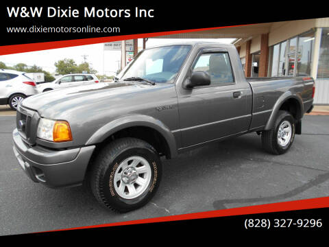 2005 Ford Ranger for sale at W&W Dixie Motors Inc in Hickory NC