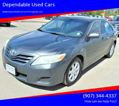 2010 Toyota Camry for sale at Dependable Used Cars in Anchorage AK