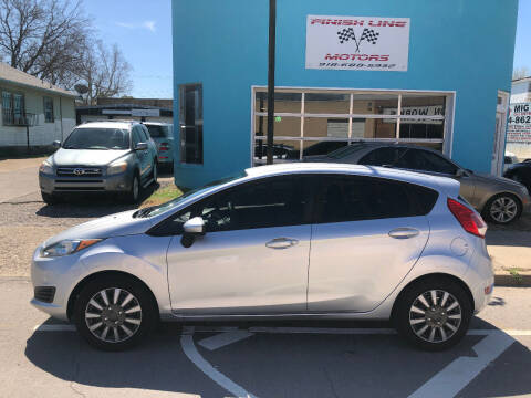 2016 Ford Fiesta for sale at Finish Line Motors in Tulsa OK