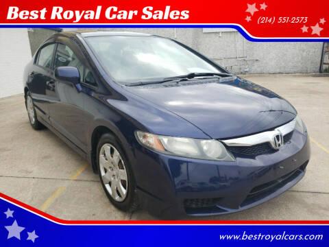 2010 Honda Civic for sale at Best Royal Car Sales in Dallas TX