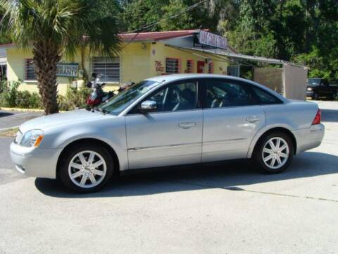 2005 Ford Five Hundred for sale at VANS CARS AND TRUCKS in Brooksville FL