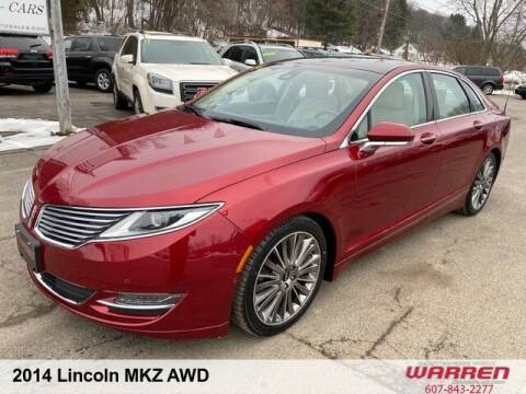 2014 Lincoln MKZ for sale at Warren Auto Sales in Oxford NY