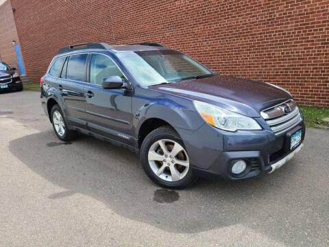 2013 Subaru Outback for sale at Minnesota Auto Sales in Golden Valley MN