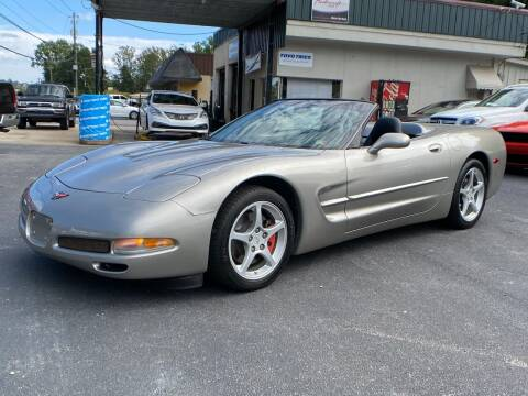 2002 Chevrolet Corvette for sale at Luxury Auto Innovations in Flowery Branch GA