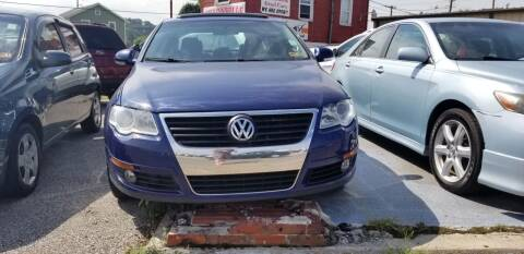 2009 Volkswagen Passat for sale at Sissonville Used Cars in Charleston WV