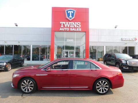 2017 Lincoln Continental for sale at Twins Auto Sales Inc Redford 1 in Redford MI