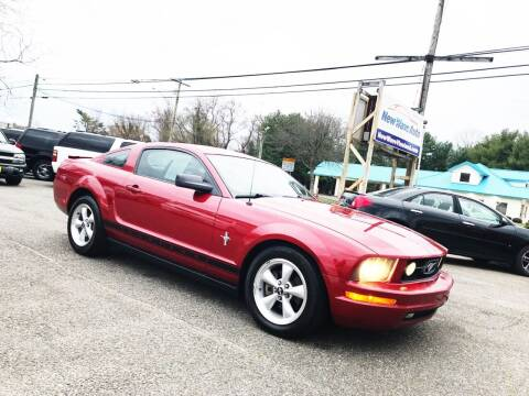 2008 Ford Mustang for sale at New Wave Auto of Vineland in Vineland NJ