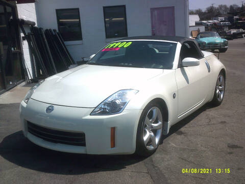 2008 Nissan 350Z for sale at M & M Inc. of York in York PA