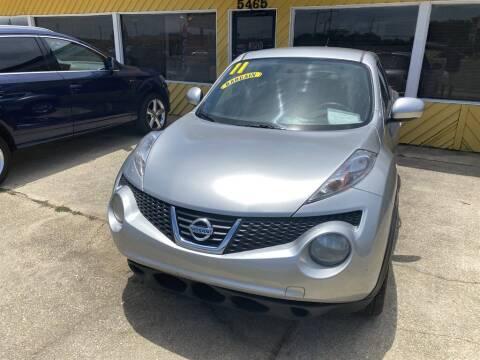 2011 Nissan JUKE for sale at THE COLISEUM MOTORS in Pensacola FL
