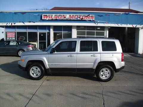 2013 Jeep Patriot for sale at Wilson Motors in Junction City KS