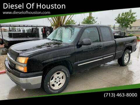 2005 Chevrolet Silverado 1500 for sale at Diesel Of Houston in Houston TX