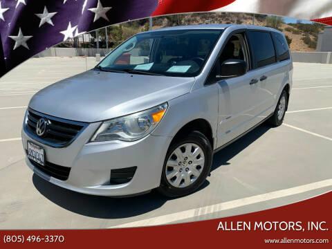 2010 Volkswagen Routan for sale at Allen Motors, Inc. in Thousand Oaks CA