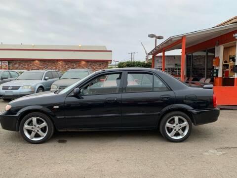 2003 Mazda Protege for sale at Goleta Motors in Goleta CA