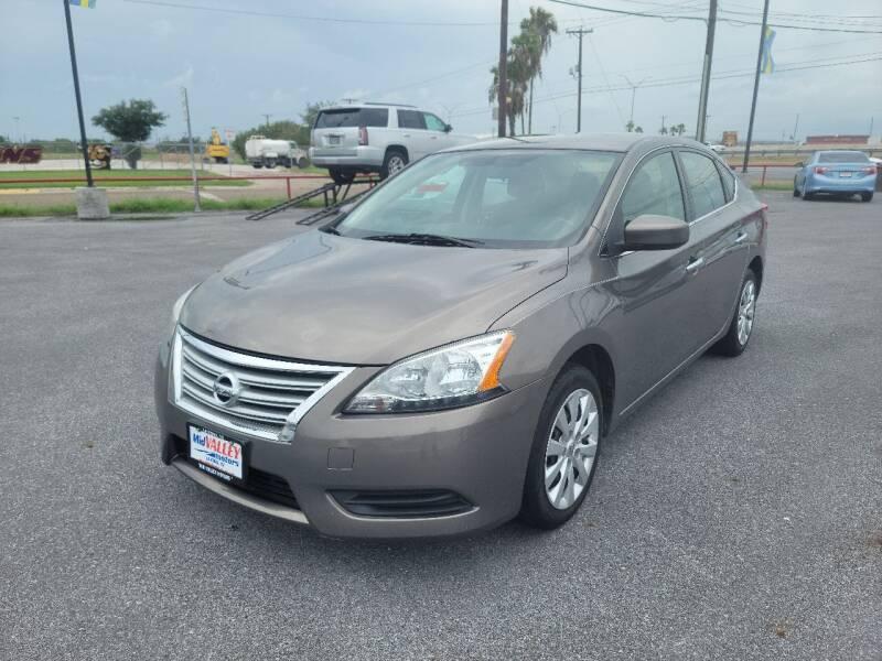 2015 Nissan Sentra for sale at Mid Valley Motors in La Feria TX