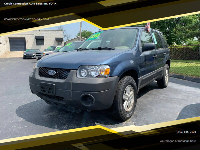2006 Ford Escape for sale at Credit Connection Auto Sales Inc. YORK in York PA