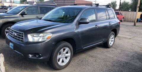 2008 Toyota Highlander for sale at Martinez Cars, Inc. in Lakewood CO