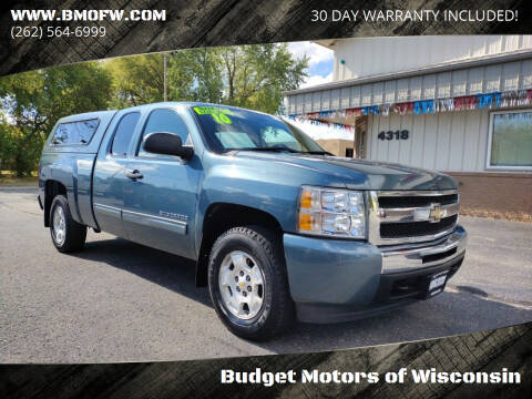 2010 Chevrolet Silverado 1500 for sale at Budget Motors of Wisconsin in Racine WI