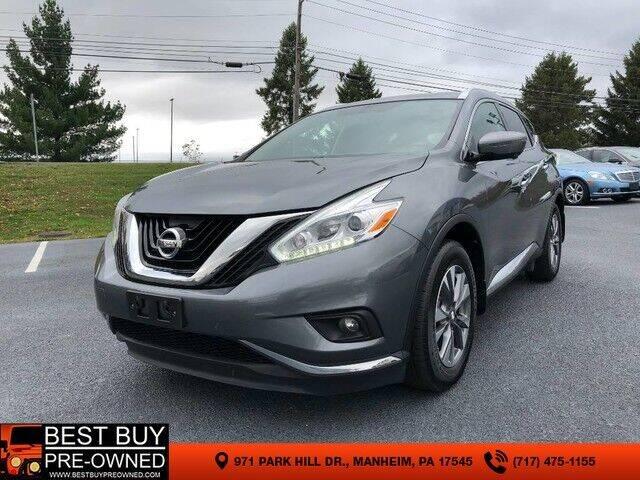 2017 Nissan Murano AWD SL 4dr SUV (midyear release) - Manheim PA