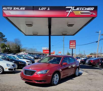2014 Chrysler 200 for sale at Fletcher Auto Sales in Augusta GA