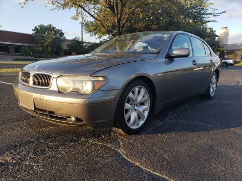 2004 BMW 7 Series for sale at ZNM Motors in Irving TX