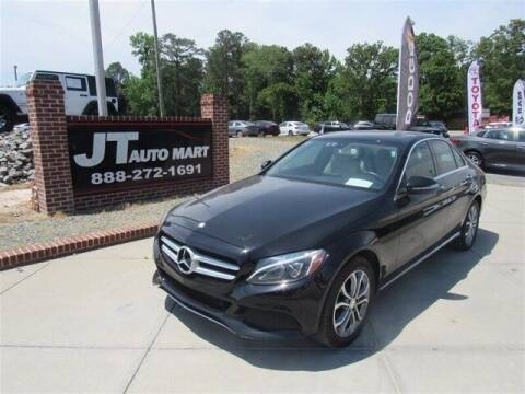 2015 Mercedes-Benz C-Class for sale at J T Auto Group in Sanford NC
