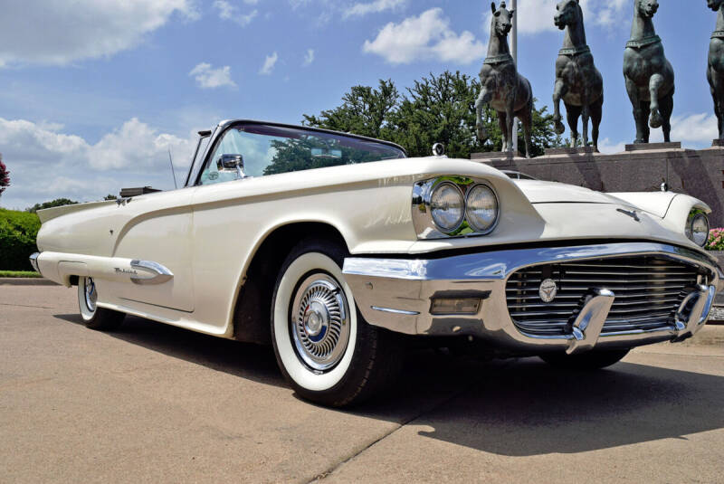 1959 Ford Thunderbird for sale at European Motor Cars LTD in Fort Worth TX
