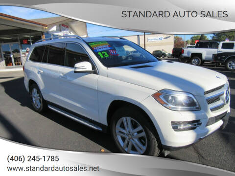 2013 Mercedes-Benz GL-Class for sale at Standard Auto Sales in Billings MT