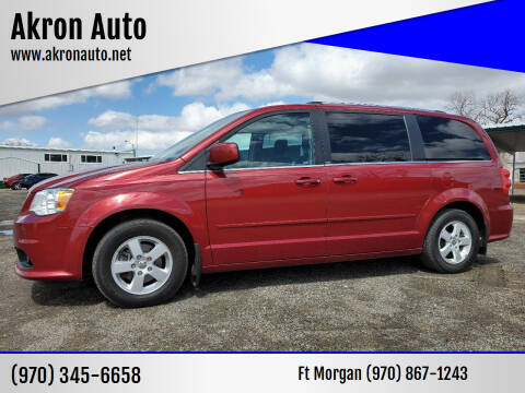 2011 Dodge Grand Caravan for sale at Akron Auto in Akron CO