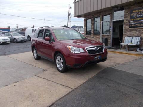 2014 Subaru Forester for sale at Preferred Motor Cars of New Jersey in Keyport NJ