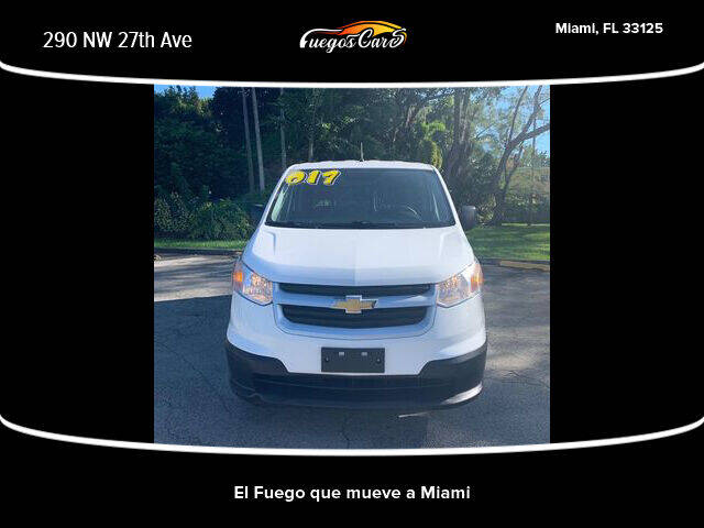 2017 Chevrolet City Express Cargo for sale at Fuego's Cars in Miami FL
