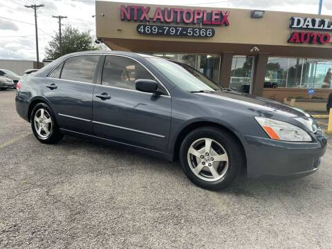 2005 Honda Accord for sale at NTX Autoplex in Garland TX