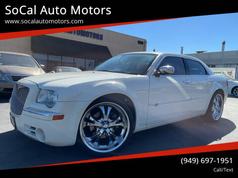 2008 Chrysler 300 for sale at SoCal Auto Motors in Costa Mesa CA