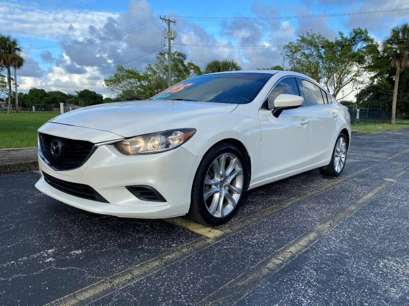 2015 Mazda MAZDA6 for sale at Lamberti Auto Collection in Plantation FL