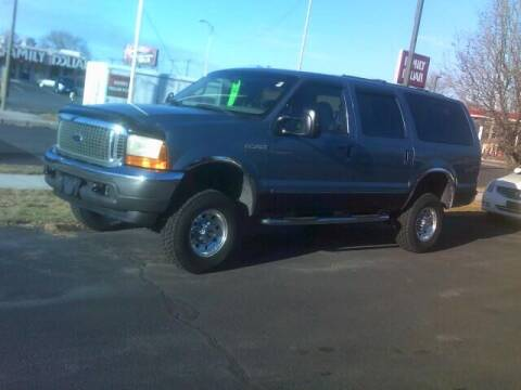 2000 Ford Excursion for sale at University Auto Sales Inc in Pocatello ID
