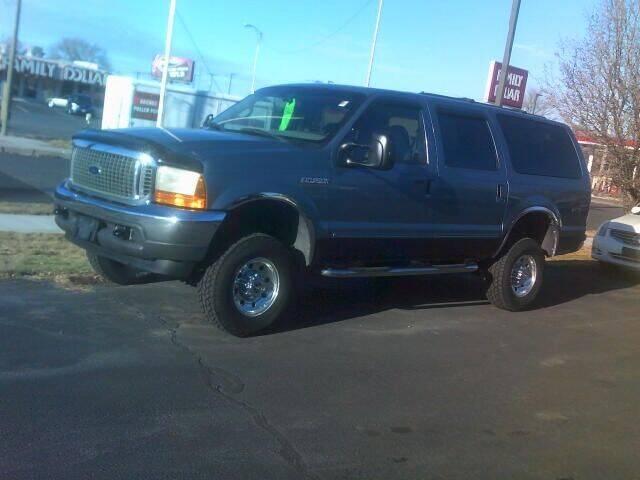 2000 Ford Excursion for sale at University Auto Sales Inc in Pocatello ID