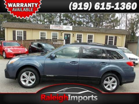 2013 Subaru Outback for sale at Raleigh Imports in Raleigh NC