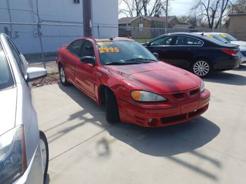 2004 Pontiac Grand Am for sale at Kenosha Auto Outlet LLC in Kenosha WI