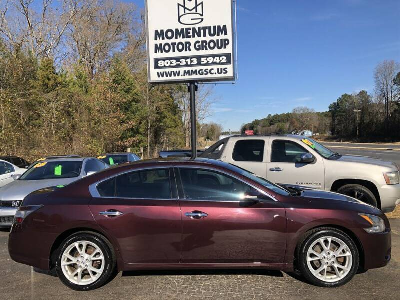 2014 Nissan Maxima for sale at Momentum Motor Group in Lancaster SC
