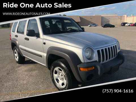 2004 Jeep Liberty for sale at Ride One Auto Sales in Norfolk VA