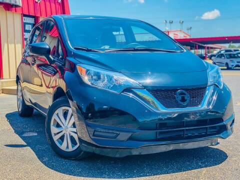 2017 Nissan Versa Note for sale at MAGNA CUM LAUDE AUTO COMPANY in Lubbock TX