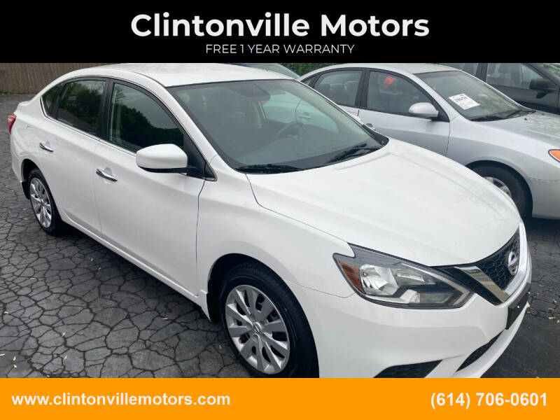 2017 Nissan Sentra for sale at Clintonville Motors in Columbus OH