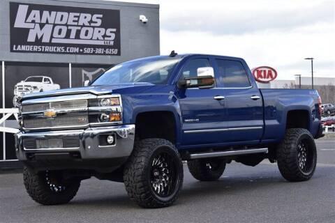 2016 Chevrolet Silverado 3500HD for sale at Landers Motors in Gresham OR