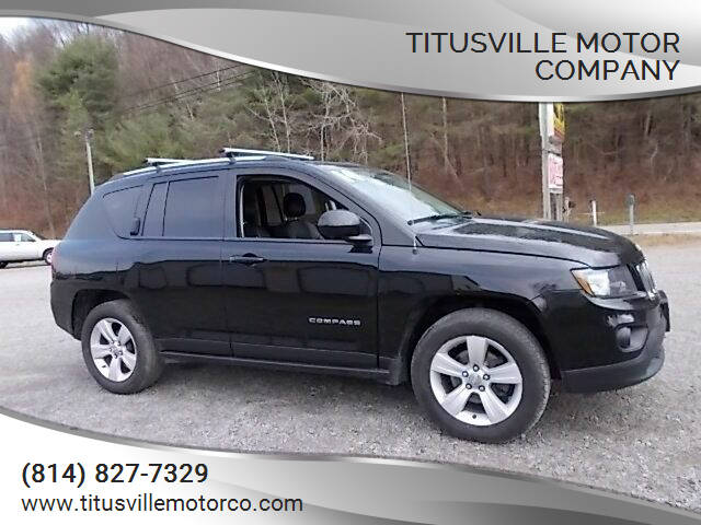 2014 Jeep Compass for sale at Titusville Motor Company in Titusville PA