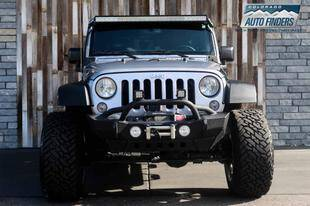 2016 Jeep Wrangler Unlimited 4x4 Sport 4dr SUV - Centennial CO