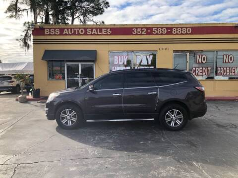 2015 Chevrolet Traverse for sale at BSS AUTO SALES INC in Eustis FL