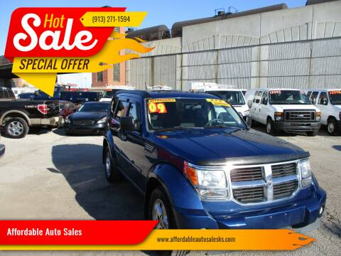 2009 Dodge Nitro for sale at Affordable Auto Sales in Olathe KS