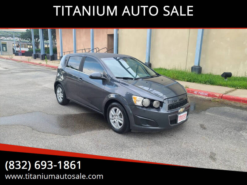 2013 Chevrolet Sonic for sale at TITANIUM AUTO SALE in Houston TX