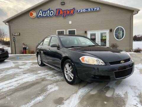 2014 Chevrolet Impala Limited for sale at The Auto Depot in Mount Morris MI