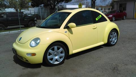 2001 Volkswagen New Beetle for sale at Larry's Auto Sales Inc. in Fresno CA